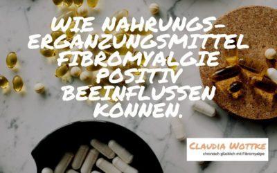 Wie Nahrungsergänzungsmittel Fibromyalgie positiv beeinflussen können.